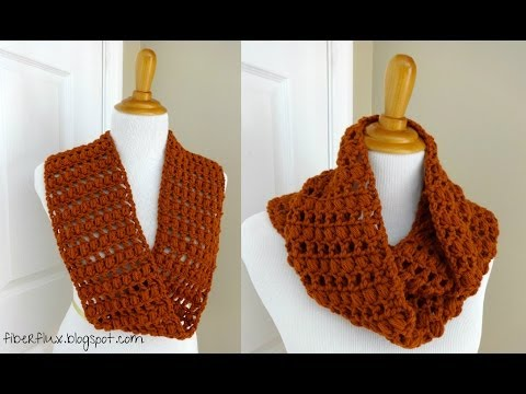 Episode 13: How to Crochet the Ginger Snap Infinity Scarf - YouTube