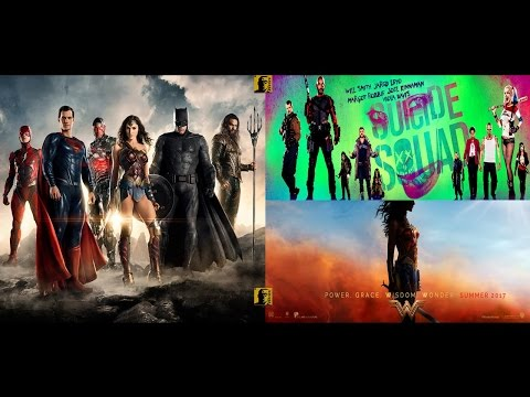DCEU Comic-Con 2016 Trailers-- Wonder Woman, Justice League & Suicide Squad+Logo Reveal