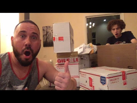 LIVE VALENTINES DAY FAM MAIL!!!