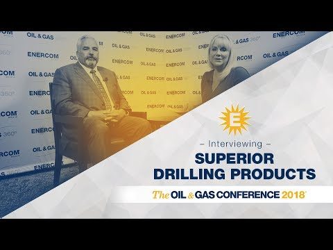 Superior Drilling Products' Troy Meier at EnerCom's Oil & Ga