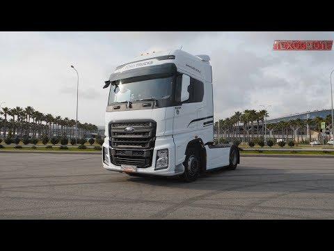 Новая кабина нового магистрального тягача Ford Trucks F-Max. Дальнобойщикам на заметку.