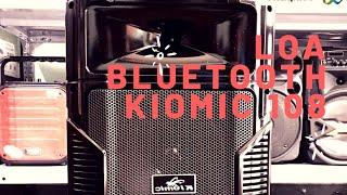 [GIẢM GIÁ] Loa Kéo Karaoke Bluetooth Kiomic K108 cực hay - BH 6 THÁNG