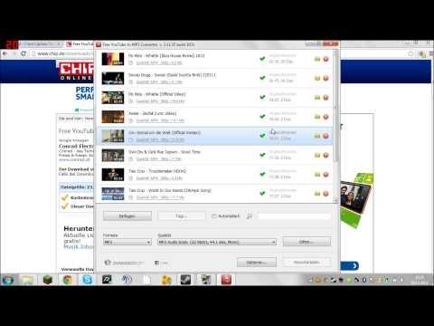 Youtube Converter Download |Tutorial| Musik Downloaden (GRATIS)