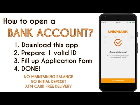 UNIONBANK How To Open New Account Using CELLPHONE Only [No Hassle]