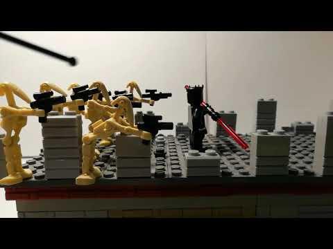 Лего самоделка #35 Бой на мосту