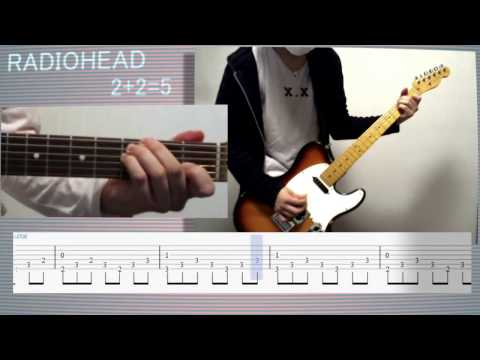 2+2=5 Worthless Tutorial & TAB (Backing track without Jonny guitar) RADIOHEAD