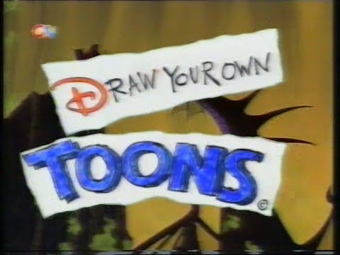 CiTV: Draw Your Own Toons 1x01 (Fearne Cotton And Jim Jinkins) - About 'Doug' (26.10.1998)