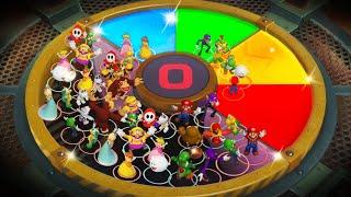 Super Mario Party MiniGames - Mario Vs Yoshi Vs Bowser Vs Bo...