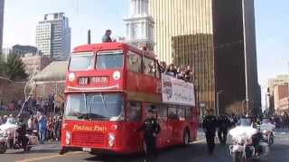 UConn Huskies Dual Championship Basketball Victory Parade Highlights  -  April 13, 2014