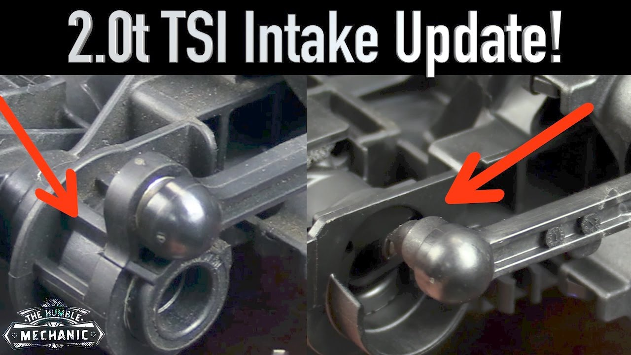 medium resolution of 2 0t tsi intake manifold update
