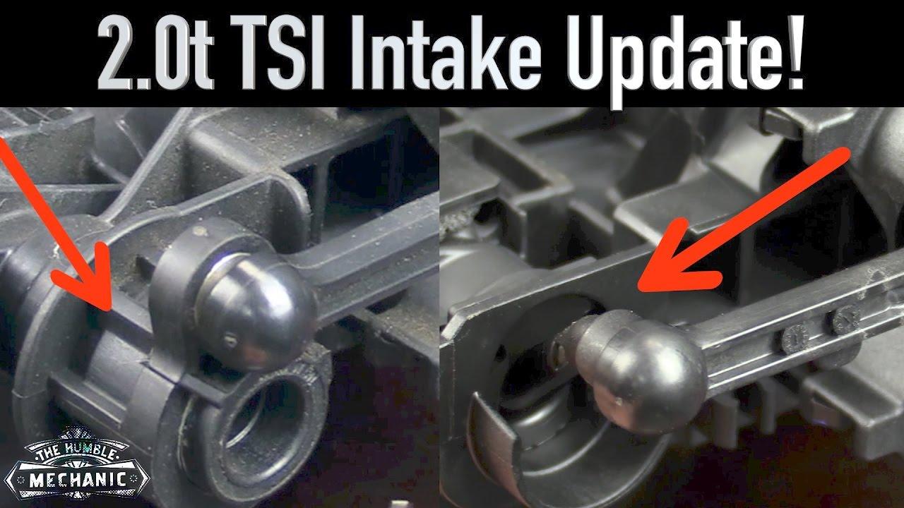 2 0t tsi intake manifold update!