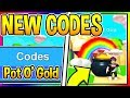 ALL NEW BUBBLE GUM SIMULATOR CODES - Pot O' Gold Pet | New Update 19 Lucky Egg Roblox