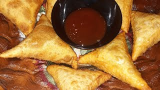 samosa pockets from scratch