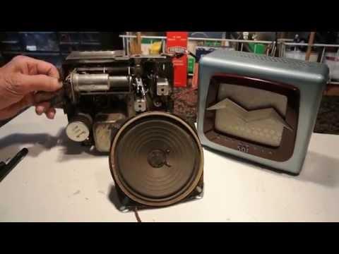 Early 50's Under Dash Mount Motorola Radio