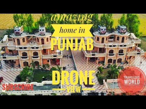 My home by drone (Punjab)