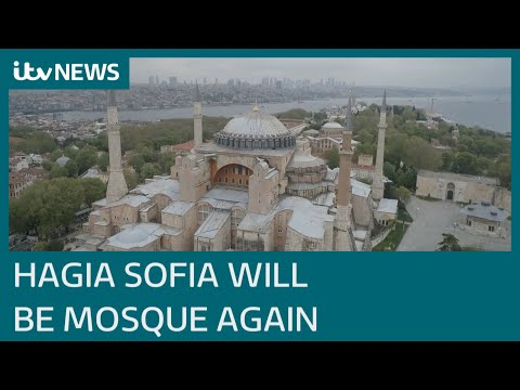 Istanbul's Hagia Sophia can be reconverted from museum to a mosque, Turkish court rules | ITV News