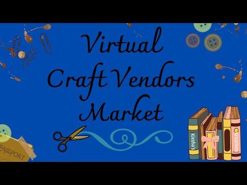 Virtual Craft Vendors Market