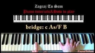 Nie ufaj mi- Igor Herbut ( jak zagrać- piano tutorial) zagrajtosam2