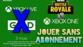 Glitch pour jouer à fortnite sans Xbox live (Saison 8)