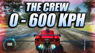 Going from 0 to 600 kph - The Crew Calling All Units - RUF CTR-3 Drag Spec