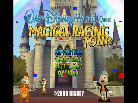 PSX Longplay [270] Walt Disney World Quest: Magical Racing Tour