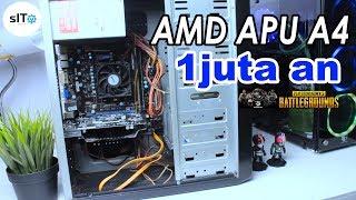 Rakit PC 1 juta AMD APU untuk Game Warnet