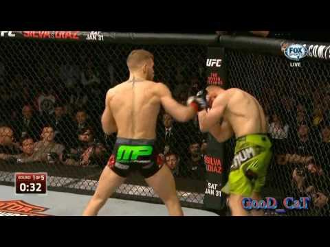 Conor McGregor vs Dennis Siver Лучшие моменты