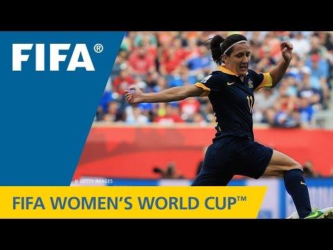 Women's World Cup TOP 10 GOALS: Lisa DE VANNA (Australia v. USA)