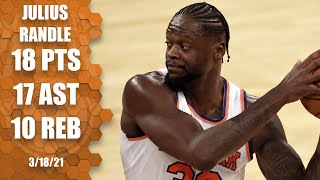 Watch the highlights as new york knicks all-star julius randle dishes out a whopping 17 assists in triple-double vs. orlando magic.#nba #sports☑️ subsc...