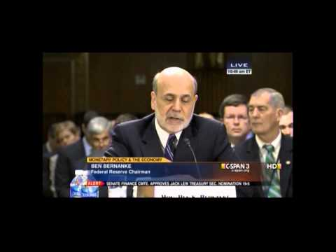 Crapo Questions Federal Reserve Chairman Ben Bernanke on Monetary Policy