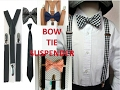 How to dress up shirts for men |bow| tie |suspenders|