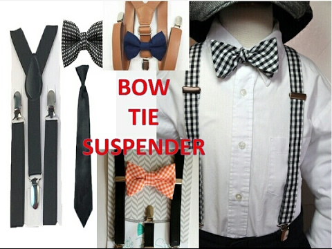 How to dress up shirts for men |bow| tie |suspenders ...