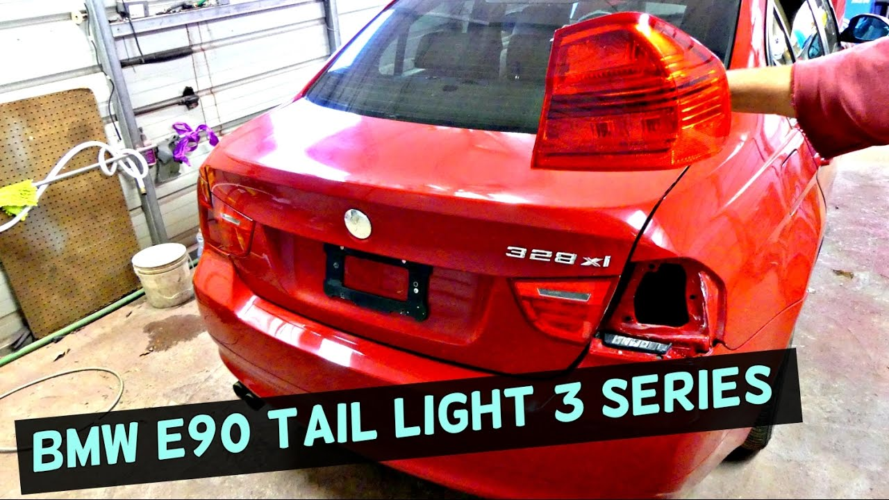 bmw tail light replacement e90 316i 318i 320i 323i 325i. Black Bedroom Furniture Sets. Home Design Ideas