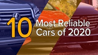 Gambar cover Top 10 Most Reliable Cars of 2020: The Short List