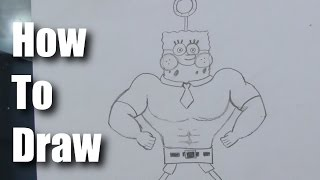 How To Draw Spongebob Out of Water - Part 1