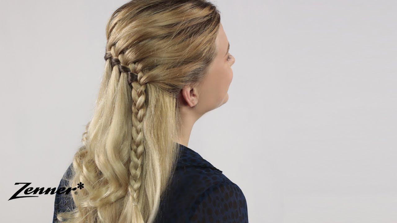 Watervalvlecht | Hair Tutorial | Zenner voor Haar