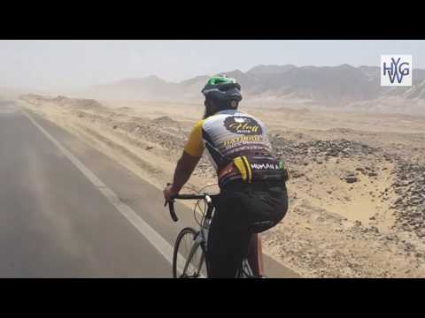 First ever Hajj pilgrimage by bicycle from London