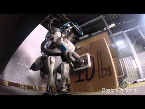 [DARPA] Boston Dynamics & Google's Newest Atlas Robot
