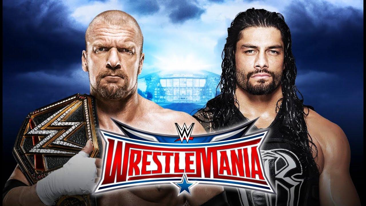 Download WWE Wrestlemania 32 - Triple H vs. Roman Reigns (WWE World Heavyweight Championship) - WWE 2K16