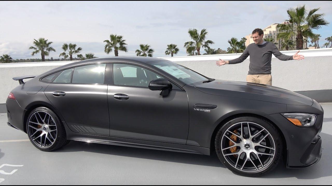 Download The Mercedes-AMG GT 4-Door Is a $175,000 Super Sedan