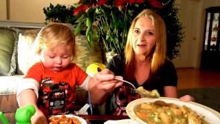 cream of broccoli soup chic pea and lentil pasta mukbang vegan mama mi plant based
