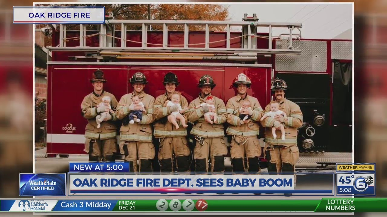 Oak Ridge Fire Department sees baby boom