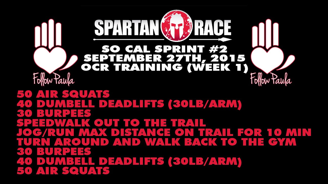 Top SPARTAN RACE | SOCAL SPRINT #2 09.27.15 | OCR TRAINING (WEEK 1  AH07