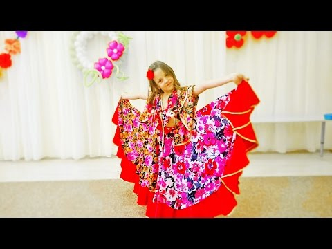 видео: Красивый и заводной цыганский танец!  Крутой танец  девочки! Танцы дети! Ай Нане Нане