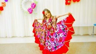 Красивый и заводной цыганский танец!  Крутой танец  девочки! Танцы дети! Ай Нане Нане