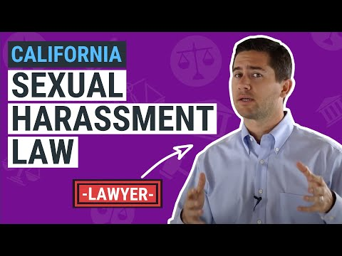 CA Sexual Harassment Law Explained by an Employment Lawyer