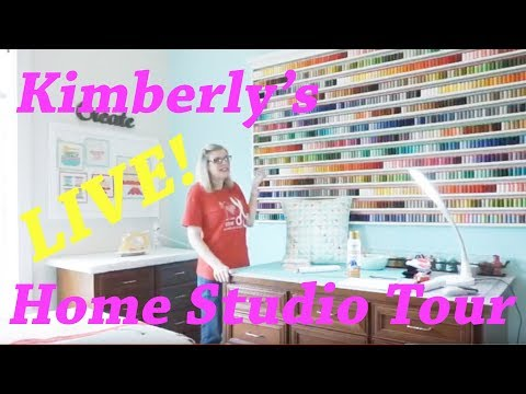 Behind the Scenes: Kimberly's Home Studio Tour | Fat Quarter Shop