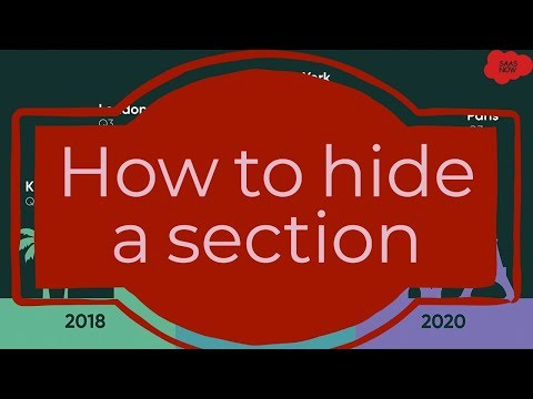 ServiceNow Guide For Developer | How to hide a section