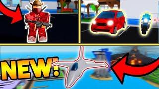 NEW FALCON, SMART CAR, GRENADE LAUNCHER, ETC! (HUGE UPDATE!) | ROBLOX: Mad City