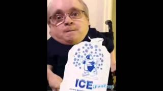 Eric the midgets ice bucket challenge - the Howard Stern Sh